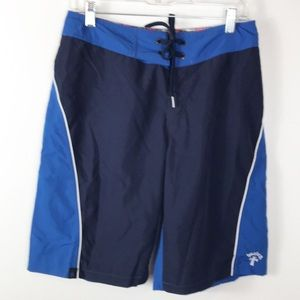 Hurley Board Shorts Lace Front Blue 29